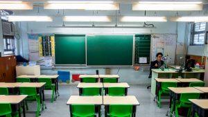 Hong Kong decide cerrar los colegios por rebrote de Covid-19