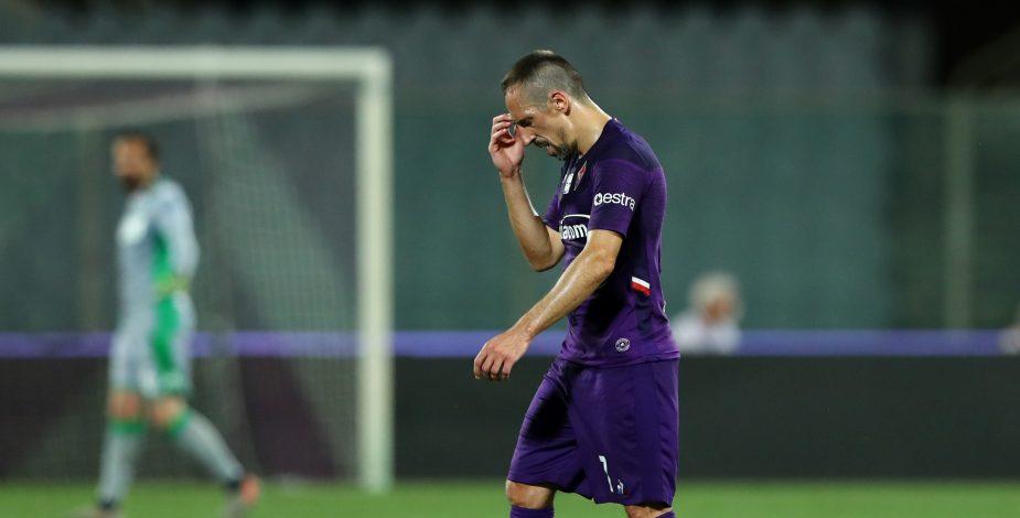 Ribéry deja entrever que podría irse de Italia tras sufrir un robo