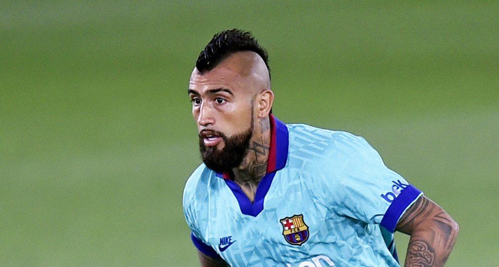 Barcelona le gana al Valladolid con gol de Arturo Vidal