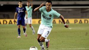 """""""Uno de los más brillantes del equipo"""": Prensa italiana elogió a Sánchez en empate del Inter"""