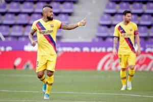 """Arturo Vidal: """"Espero seguir marcando y ayudando al equipo"""""""