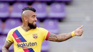 Así fue el gol de Arturo Vidal que abrió el marcador del Barcelona frente al Valladolid
