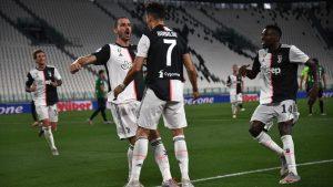 Juventus rescató valioso empate ante el Atalanta y se acerca a su noveno Scudetto consecutivo