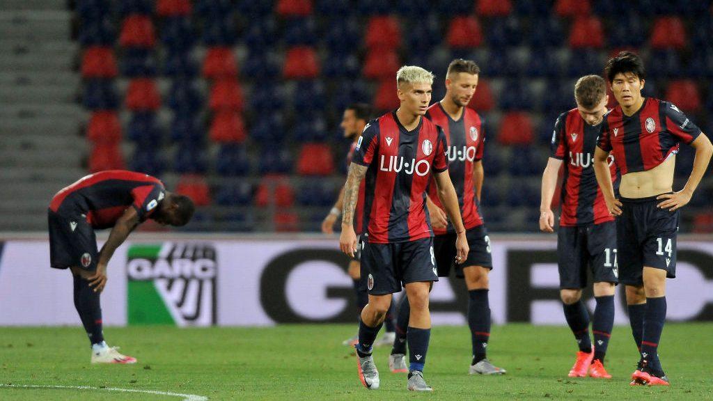 Gary Medel fue titular en sufrida derrota del Bologna ante el Sassuolo