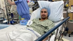 Felipe Gutiérrez recibió en su rodilla un injerto de persona fallecida