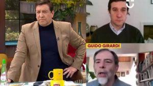 """""""Esa muletilla de los políticos"""": J.C. Rodríguez y Guido Girardi tuvieron tenso round en Contigo en la Mañana"""