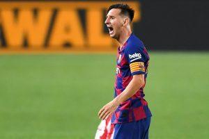 Aseguran que Lionel Messi mira su futuro fuera del FC Barcelona