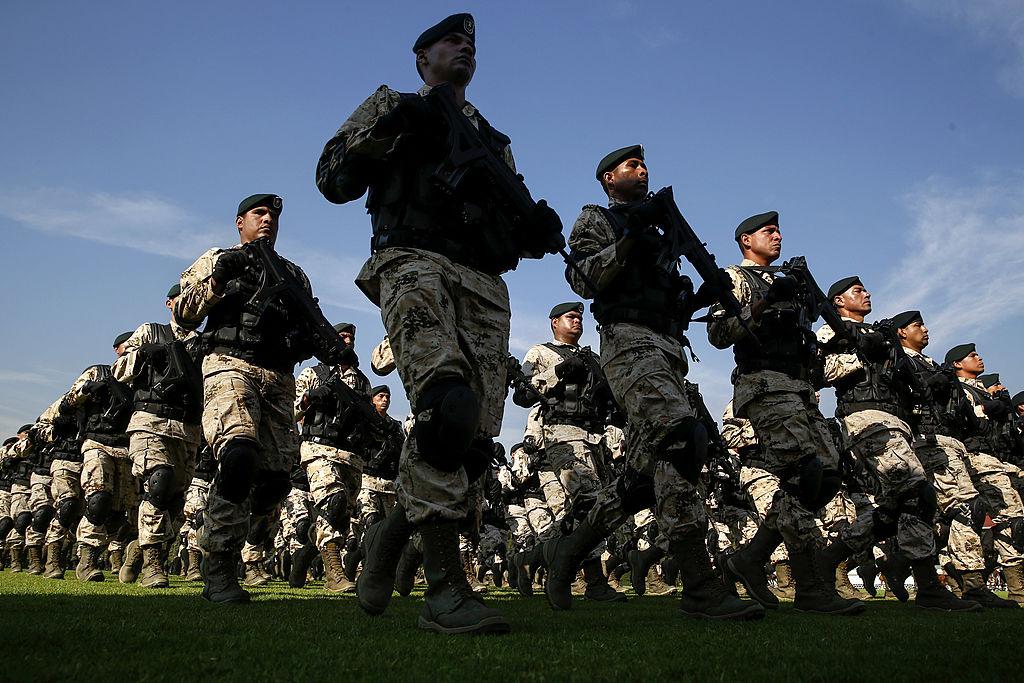 Efectivos del ejército mexicano