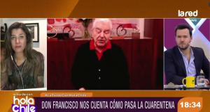 """La sincera reflexión de Don Francisco sobre la pandemia: """"Me doy cuenta que a mí me están sobrando muchas cosas"""""""