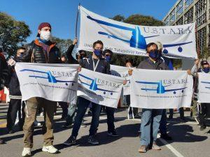 Trabajadores argentinos impidieron que Latam sacara sus aviones hacia Chile