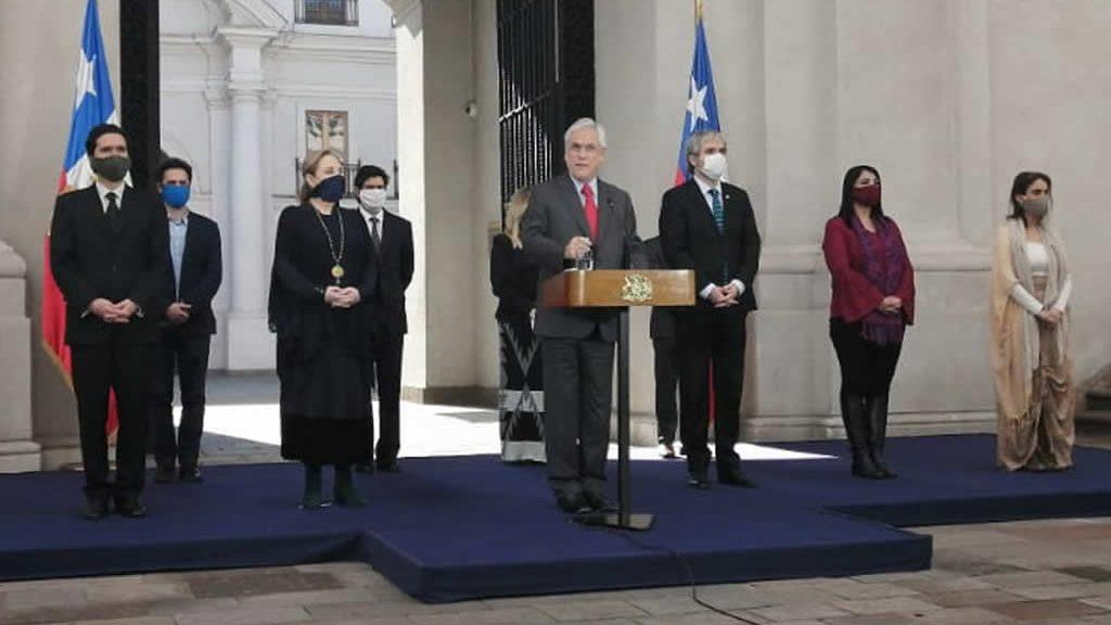 Presidente Piñera presentó nuevo plan fortalecido de protección para la clase media: bono de $500 mil a trabajadores de clase media
