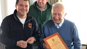 Padre de ministro Enrique Paris falleció a los 98 años en Rancagua