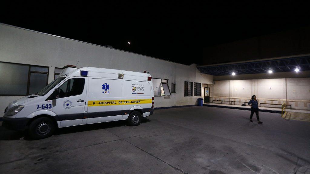 Al menos 25 personas se encuentran contagiadas de Covid-19 en el Hospital de San Javier en el Maule