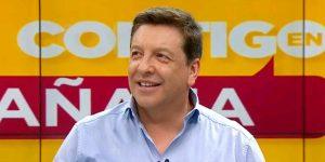 Julio César Rodríguez se emocionó en vivo luego de recibir sinceros mensajes por su cumpleaños número 51