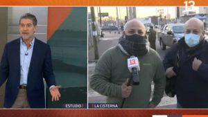 Sacó carcajadas en redes sociales: Miguel Acuña de T13 AM encontró a su doble en pleno despacho
