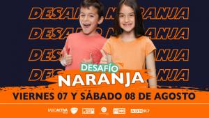 """Emisoras de Iberoamericana Radio Chile se unen en el """"Desafío Naranja"""" por más de 10 mil familias vulnerables"""