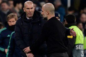 La particular imagen de Zidane y Guardiola de la que toda Europa habla