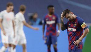 """Hinchada del Barcelona tras ver a su equipo después de la debacle: """"Sinvergüenzas"""""""