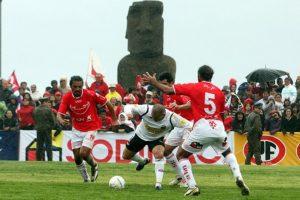Se cumplen 11 años del histórico partido de Colo Colo en Isla de Pascua
