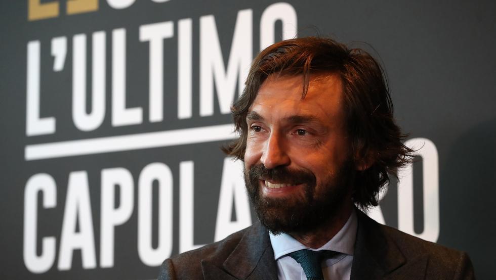 Confirmado: Andrea Pirlo será el nuevo entrenador de la Juventus
