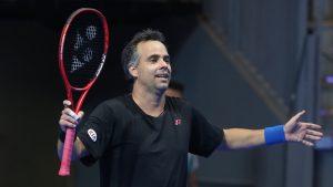 Fernado González solicitó el regreso del tenis a las autoridades