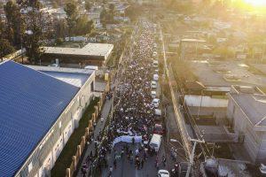 Multitudinaria marcha en Villa Alemana marcó nueva jornada de protestas por el homicidio de Ámbar Cornejo