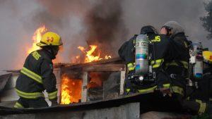 Región de Los Ríos: Adulto mayor falleció en voraz incendio en la comuna de Río Bueno