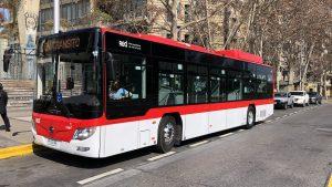 Gobierno sumó 115 buses eléctricos al transporte público de Santiago