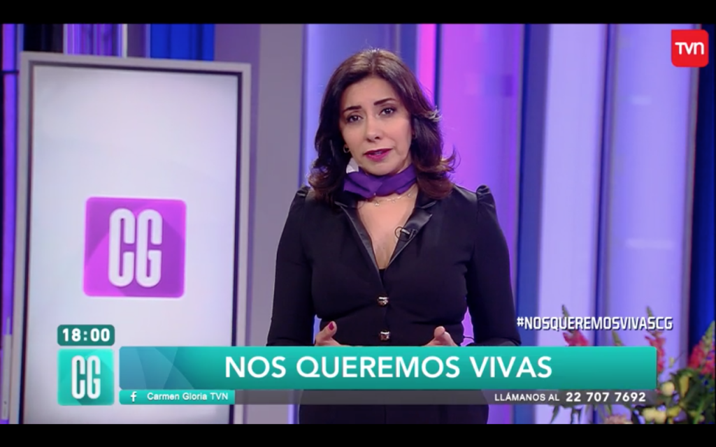 "Capítulo especial de ""Carmen Gloria a tu servicio"" sobre violencia de género sacó aplausos en redes sociales"