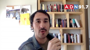 Entrelíneas vía zoom conversa con Daniel Campusano
