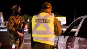 Carabineros reportó más de 2.500 personas detenidas durante las últimas 24 horas