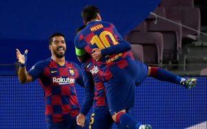 Barcelona se metió en los cuartos de final de la UEFA Champions League tras victoria ante Napoli