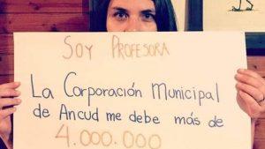 Profesores de Ancud denunciaron que no pueden optar al retiro del 10% por deudas impagas en sus cotizaciones previsionales