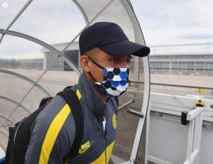 Alexis Sánchez viajó junto al Inter de Milán a Alemania para duelo por la Europa League
