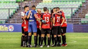 Caracas FC tuvo que suspender las prácticas tras presentar casos positivos por coronavirus en el equipo