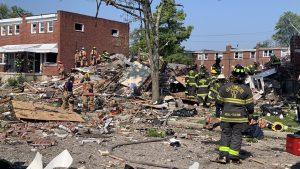 """""""Gran explosión"""" en Baltimore dejó una persona fallecida y dos heridos de gravedad"""