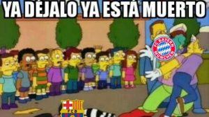 Los mejores memes que dejó la goleada del Bayern Munich al Barcelona por la Champions League