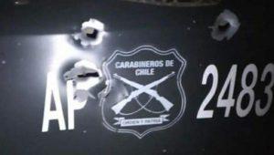 Enfrentamiento con encapuchados deja a un carabinero herido en La Araucanía