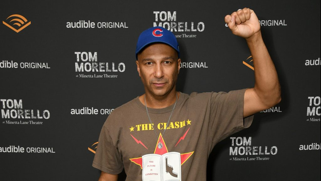 """Tom Morello nuevamente le respondió a fanático que cuestionó a RATM por ser de """"izquierda"""""""