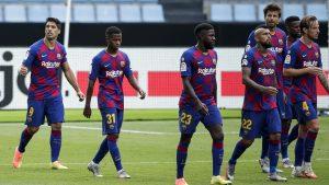 FC Barcelona informó que jugador del primer equipo dio positivo en examen de Covid-19