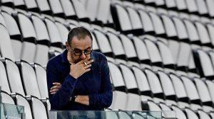 Juventus despidió al técnico Maurizio Sarri