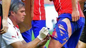 """Exfisioterapeuta de la Roja recordó duelo ante Brasil: """"En cada cambio de vendaje, Gary me decía que el dolor era muy fuerte"""""""