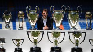 Iker Casillas anunció su retiro del fútbol