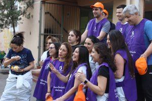 """Colegio de Cerro Navia lleva años trabajando con World Vision: """"Para nosotros es un socio estratégico"""""""