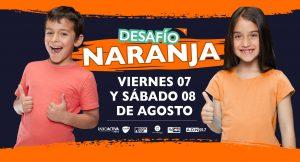 """World Vision Chile sobre el Desafío Naranja: """"El aporte puede ser de mil pesos en adelante. Todo suma"""""""