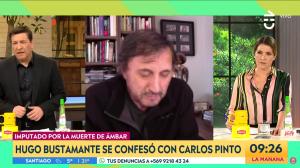 """Carlos Pinto sobre el perfil de Hugo Bustamante: """"Es un psicópata"""""""