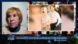 Paty Cofré se emocionó al recordar a su fallecido esposo