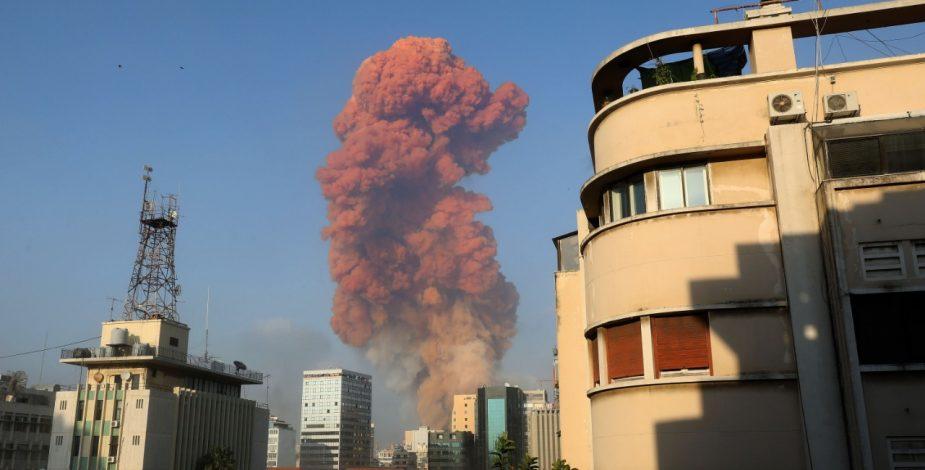 Declara Líbano luto nacional tras explosión en Beirut