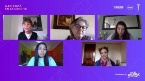 """Conversatorio """"Hablemos en la Cancha"""" reunió a jugadoras de la UC con organizaciones de pacientes para concientizar sobre el cáncer en Chile"""