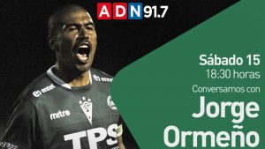 """Jorge Ormeño conversará con el """"Grillo del Gol"""" por el aniversario 128 de Santiago Wanderers"""